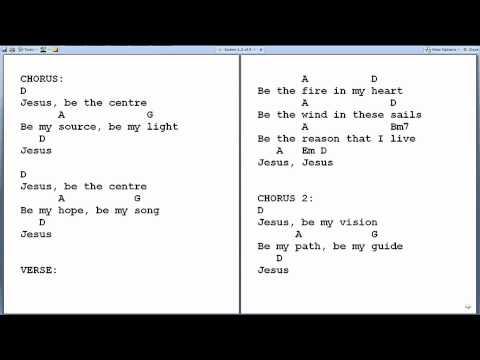 Jesus At the Center Ukulele chords by Israel Houghton - Worship Chords