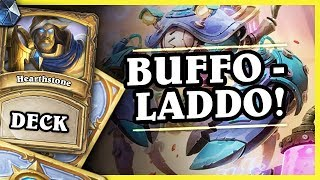 BUFFO - LADDO! - MECH PALADIN - Hearthstone Deck (Rise of Shadows)
