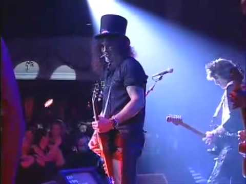 Slash & Ron Wood – Flying