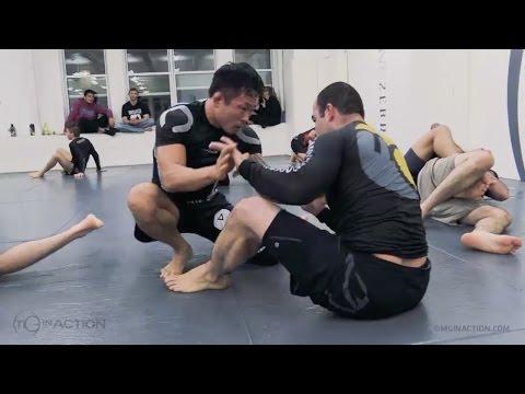 MMA Fighter Doo Won 'KOREAN PITBULL' Seo with Marcelo Garcia