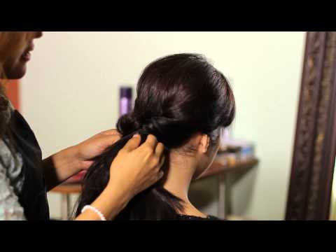 How to Do the Twin Loop Ponytail : Tress to Impress