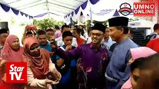 Exceptional crowd at Tok Mat's Raya open house