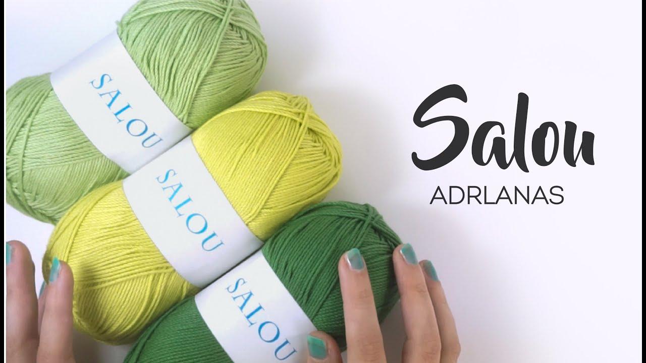 Lanas para tejer prendas de verano - Hilos ganchillo SALOU