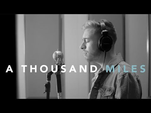 A Thousand Miles - Vanessa Carlton Acoustic Cover by Jonah Baker