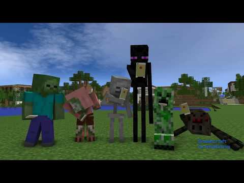 FNAF Vs Mobs: Season 1 - Monster School (Minecraft Animation)