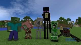 FNAF vs Mobs: Saison 1 - Monster-Schule (Minecraft Animation)