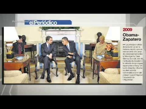 """TV3 - Els Matins - Rajoy li diu a Obama que la independència """"no mola per als petits"""""""