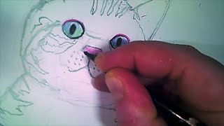 YouDraw: How To Draw a Cat With Color Pencils
