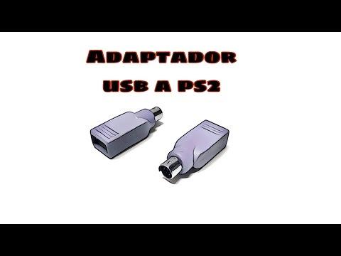 Video de Adaptador USB  a PS2 para raton  Verde