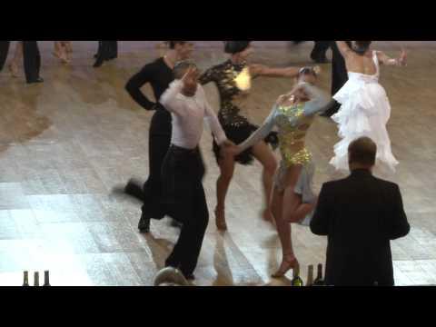 Dmitry Bunin - Alexandra Coldan, 1/8 Cha-Cha-Cha