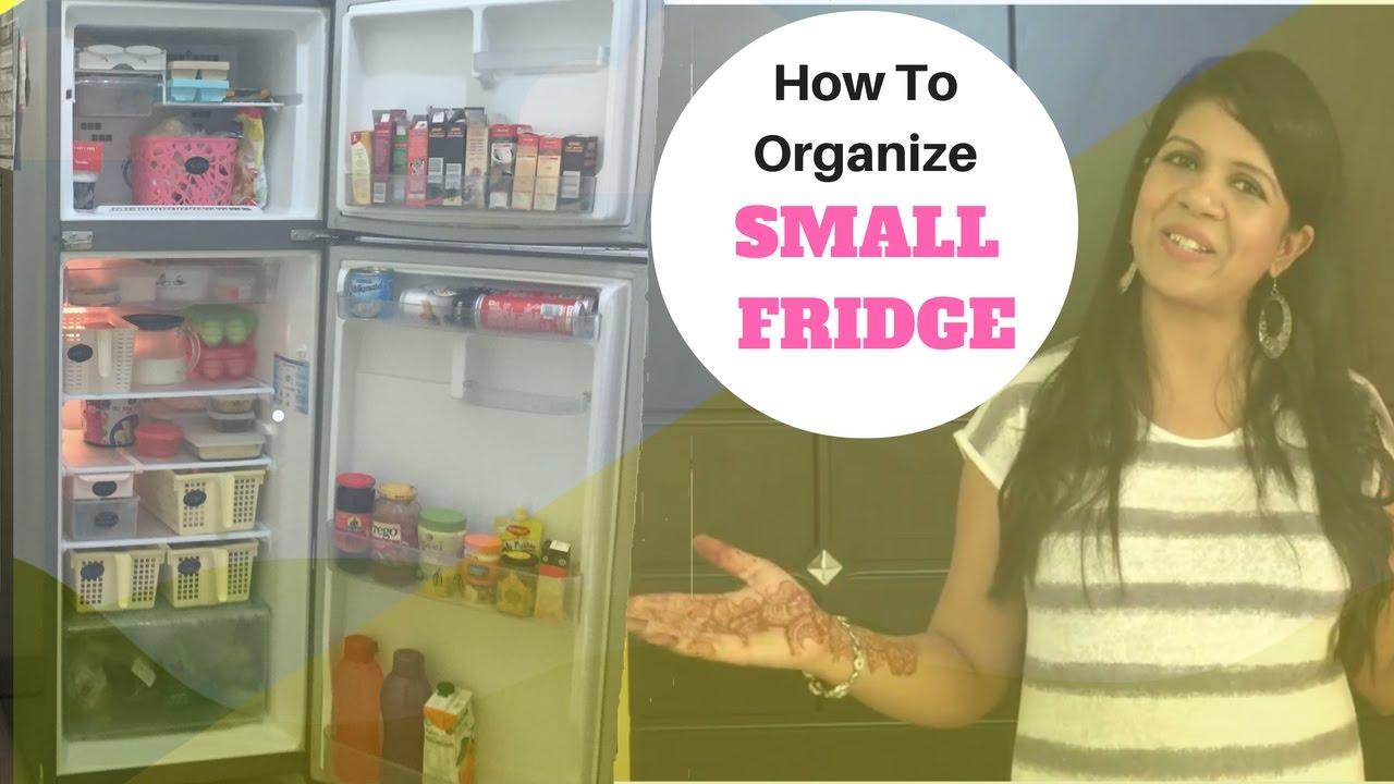 how to organize a fridge ideas to organize small fridge youtube. Black Bedroom Furniture Sets. Home Design Ideas