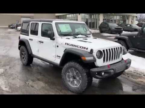 2018 jeep wrangler jl rubicon in white youtube. Black Bedroom Furniture Sets. Home Design Ideas