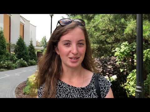 Olga z Białorusi o tym, dlaczego przyjechała na kongres - II Kongres Młodzieży Polonijnej