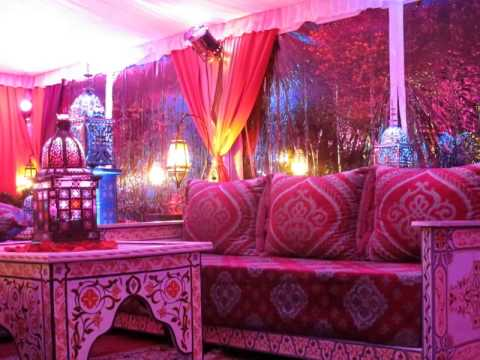 Tent transformation into a Beautiful pink ish Moroccan theme Party by Alibaba Events & Tent transformation into a Beautiful pink ish Moroccan theme Party ...
