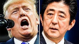 "Trump Yells At Japanese Prime Minister, Says He ""Remembers Pearl Harbor"""