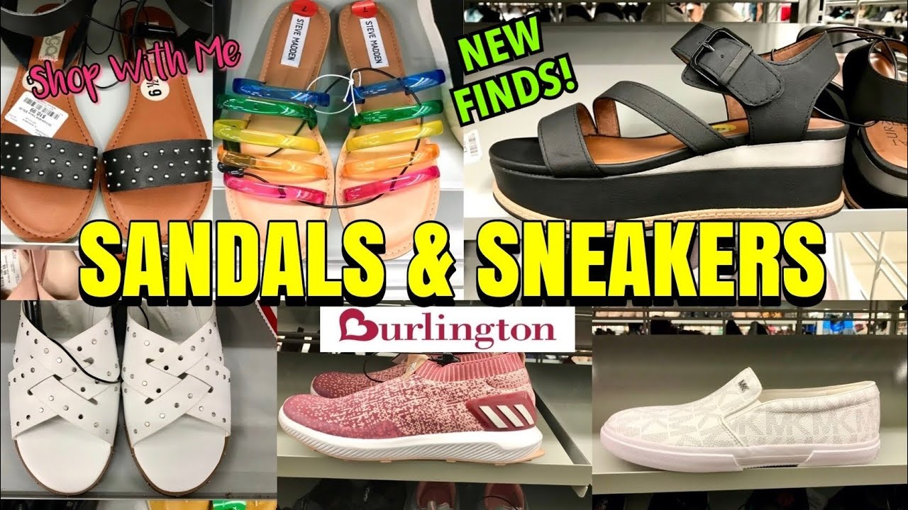 Burlington SHOP WITH ME Sandals & Sneakers SHOE SHOPPING New Finds !!!