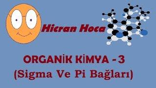 Hicran Hoca-Organik Kimya 3(Sigma ve Pi Bağları-Kısa Ve Öz!)