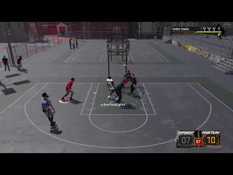 NBA 2K18 Crazy battle of the Point Guards