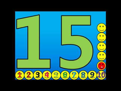 Counting 1 - 20 Activity (Spanish) Contando 1 a 20 Actividad