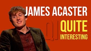 James Acaster on QI