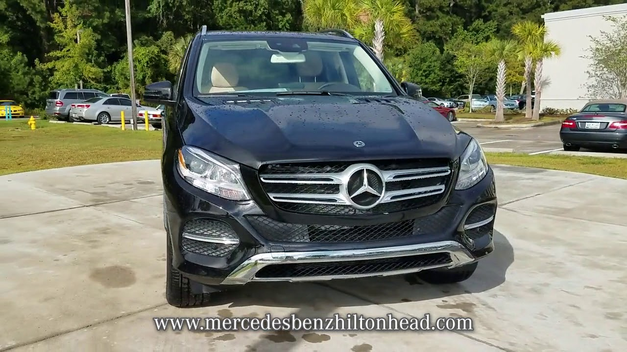 NEW 2018 MERCEDES BENZ GLE GLE 350 SUV At Mercedes Benz Of Hilton Head N  #M218057