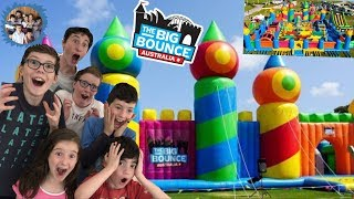 WORLDS BIGGEST JUMPING CASTLE! THE BIG BOUNCE AUSTRALIA