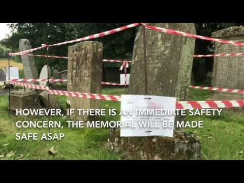 Headstone testing programme - making our cemeteries safe