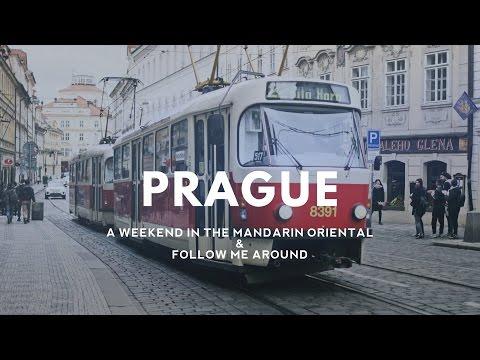 Mandarin Oriental Prague Hotel Tour and Follow me Around