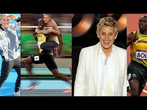 Ellen Post Racist Picture Of Usain Bolt?