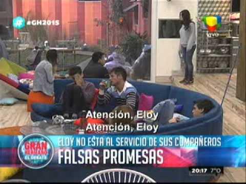 """""""Gran Hermano 2015"""": ¿Eloy es tan """"inútil"""" cómo parece?"""