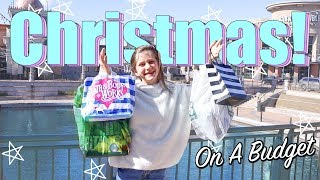Christmas Shopping On a Budget!! Last Minute!! Challenge