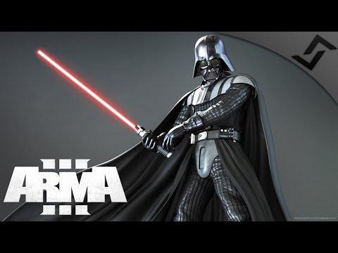 Lightsabers & Laser Guns Overview - ArmA 3 Star Wars: Opposition Mod Gameplay 1440p60