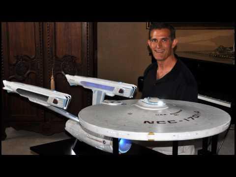 Star Trek 6 foot scratch built Enterprise A - Construction