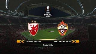 FK Crvena zvezda vs. CSKA Moscow | 13/02/2018 | UEFA Europa league 2017/2018