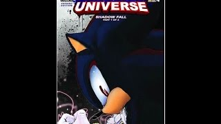 "Sonic Universe Comic Issue 59: ""Shadow Fall"" Part 1: ""Into the Unknown"""