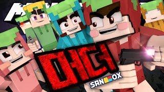 싸이도티, 싸이잠뜰, 싸이코아!? 여섯 복숭아들의 머더 서바이벌 [머더: 살인자 미니게임] Minecraft - Murder - [도티]