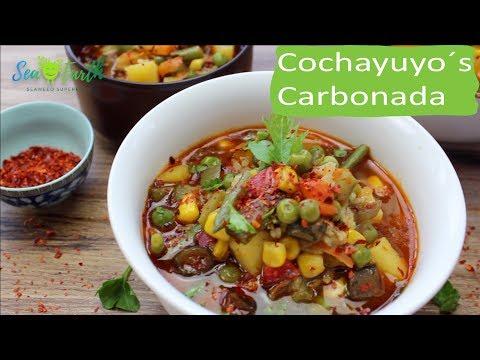 Cochayuyo Carbonada - Seaweed food / Seaweed recipes / Recetas Algas / 海藻食譜 / 海藻レシピ / 해초 제조법