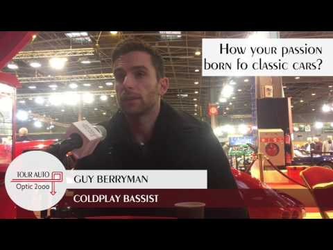 Guy Berryman (Coldplay) at the Tour Auto 1/10  How you passion was born?