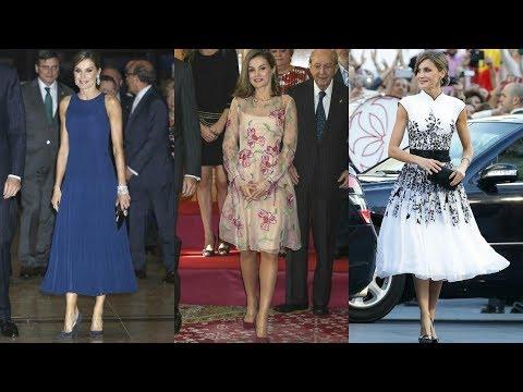 Los tres looks de la Reina Letizia en los Premios Princesa de Asturias 2017