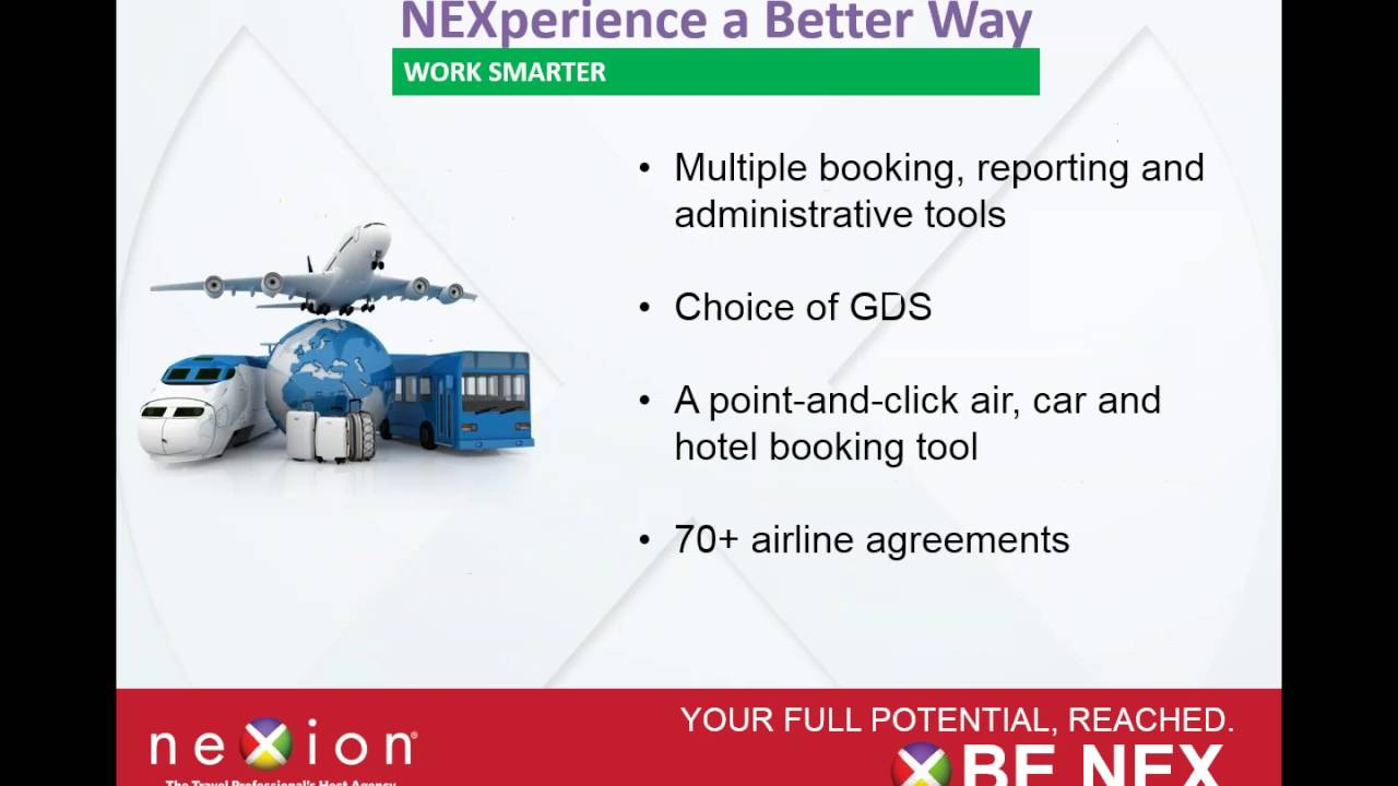 NEXplore New Opportunities with Nexion, the Travel Professional's Host  Agency
