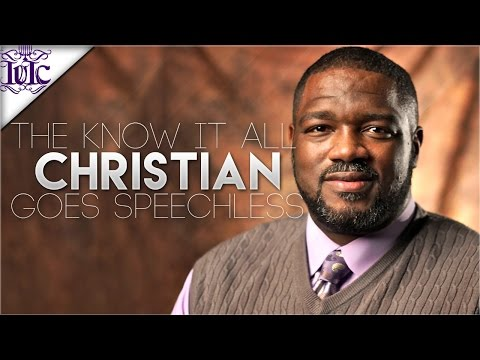 The Israelites: The Know It All Christian Goes Speechless!!!
