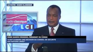 Denis Sassou-Nguesso, invité politique de Guillaume Durand avec LCI