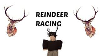 Roblox : Reindeer Racing FFA For Super Admin?! December 2016