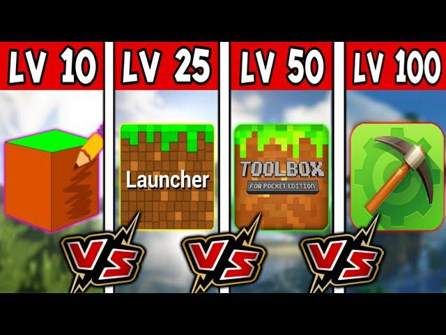 ✔PocketInvEditor VS BlockLauncher VS Toolbox for Minecraft VS MCPE Master!! ความโกงที่ต่างกัน!!! #1