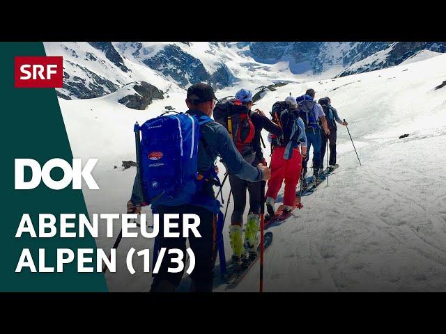 Skitour des Lebens – Haute Route von Chamonix nach Zermatt   Abenteuer Alpen (1/3)   Doku   SRF Dok