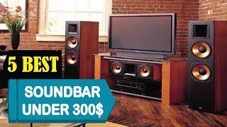 5 Best Soundbar Under 300$ 2018 | Best Soundbar Under 300$ Reviews | Top 5 Soundbar Under 300$