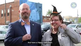 How to get to Halloween on Franklin Street in Chapel Hill.