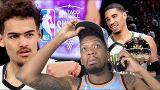 TATUM STEALS TRAE'S TROPHY! 2019 NBA SKILLS CHALLENGE HIGHLIGHTS!