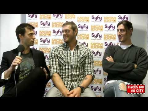 Haven Dance Party & Season 3   Adam Copeland Edge, Eric Balfour & Lucas Bryant