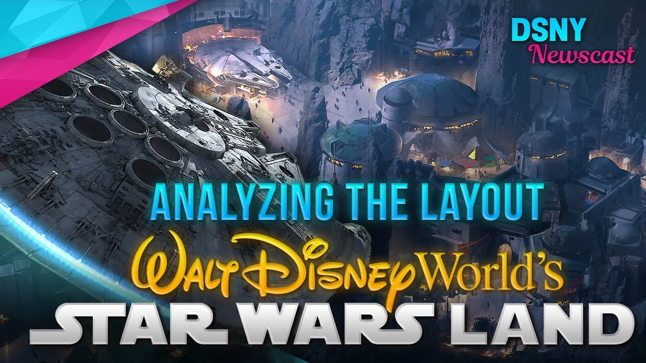 Disney Movie World Map.Analyzing The Layout Of Walt Disney World S Galaxy S Edge Disney